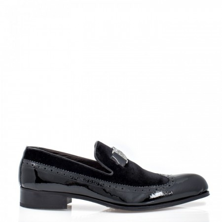 MEN'S LOAFERS IN VELVET