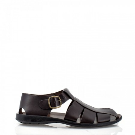 SANDALS WITH ANKEL STRAP AND BUCKLE